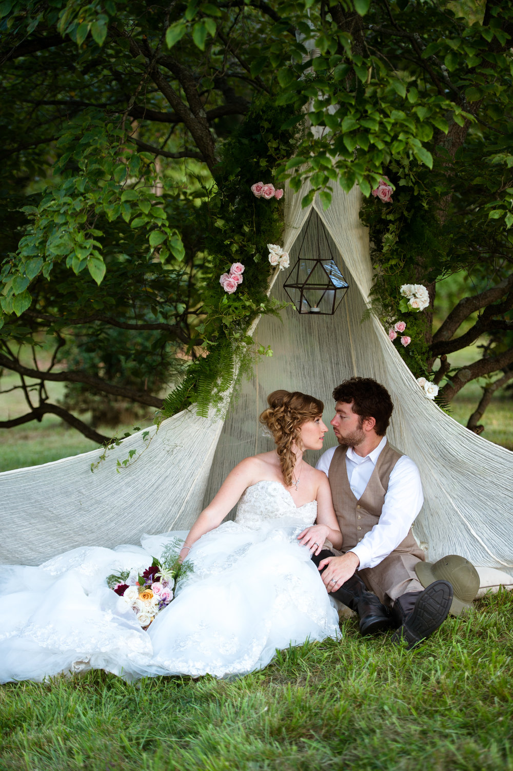 Victorian Safari Wedding Inspiration
