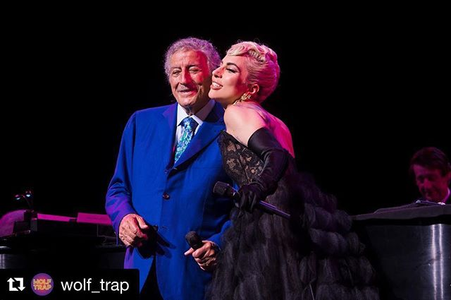 My shot from last night is live over at @wolf_trap - what an amazing night!! • • • • • #thelockandco #ladygaga #tonybennett #wolftrap #concertphotography #littlemonsters #lovemyjob #cheektocheek #concert #livephotography