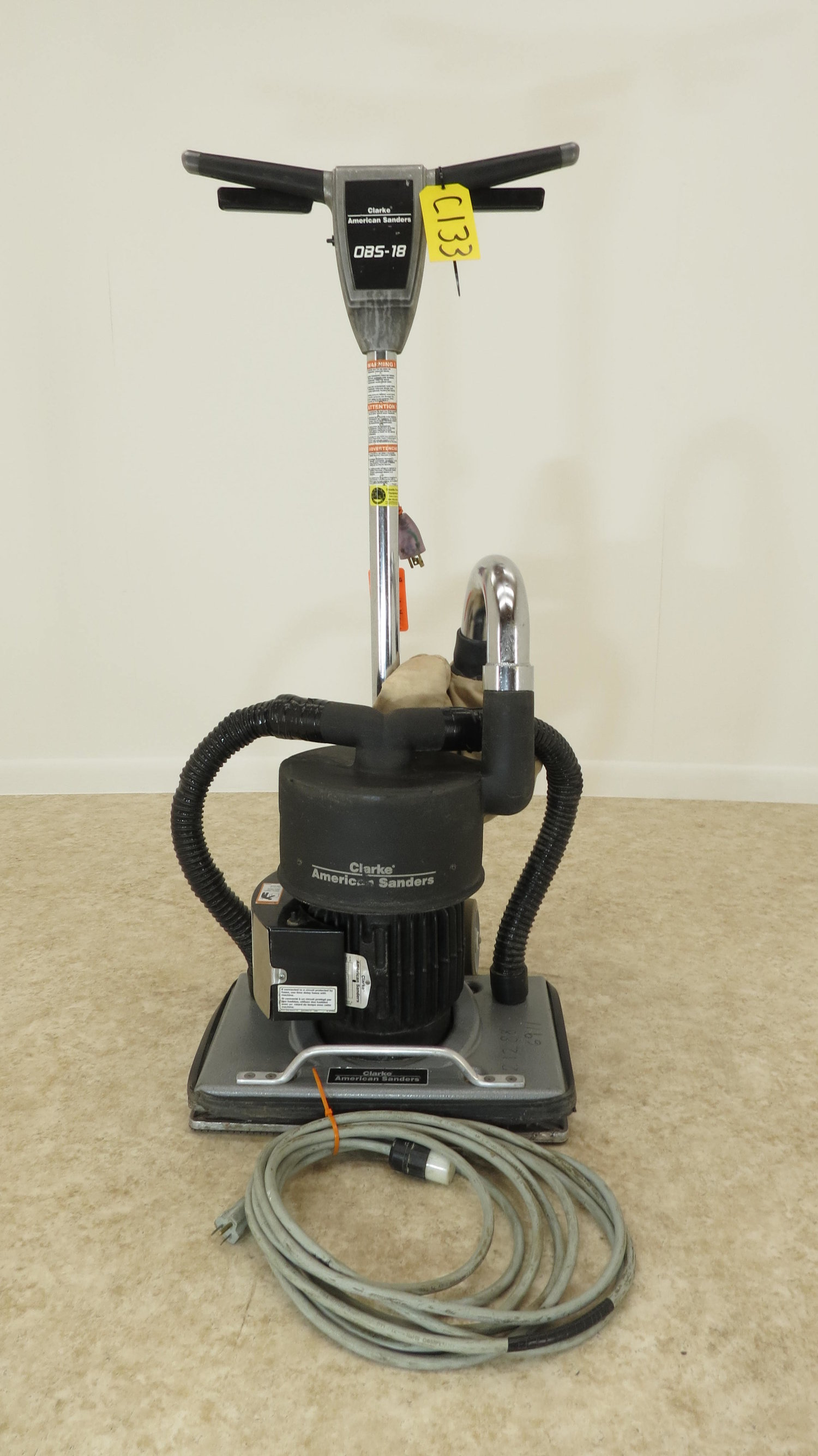 Clarke American Obs 18 Square Buff Floor Sander Gazelle Power