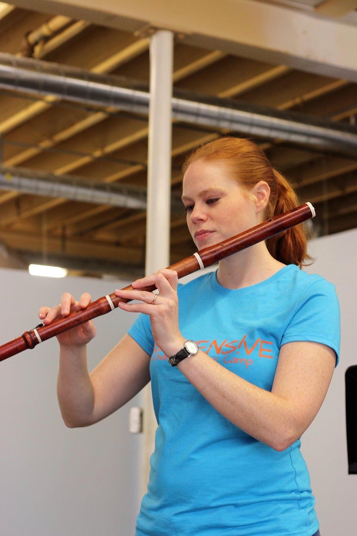 Bethany Gonella, Baroque Flute