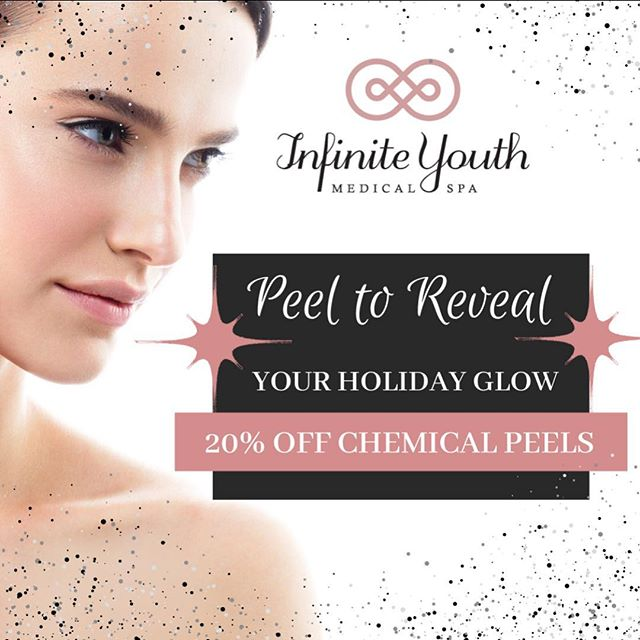 Have glowing skin for the holidays! 20% off chemical peels Dec 1-31st! #chemicalpeel #peel #pca #pcaskin #hyperpigmentation
