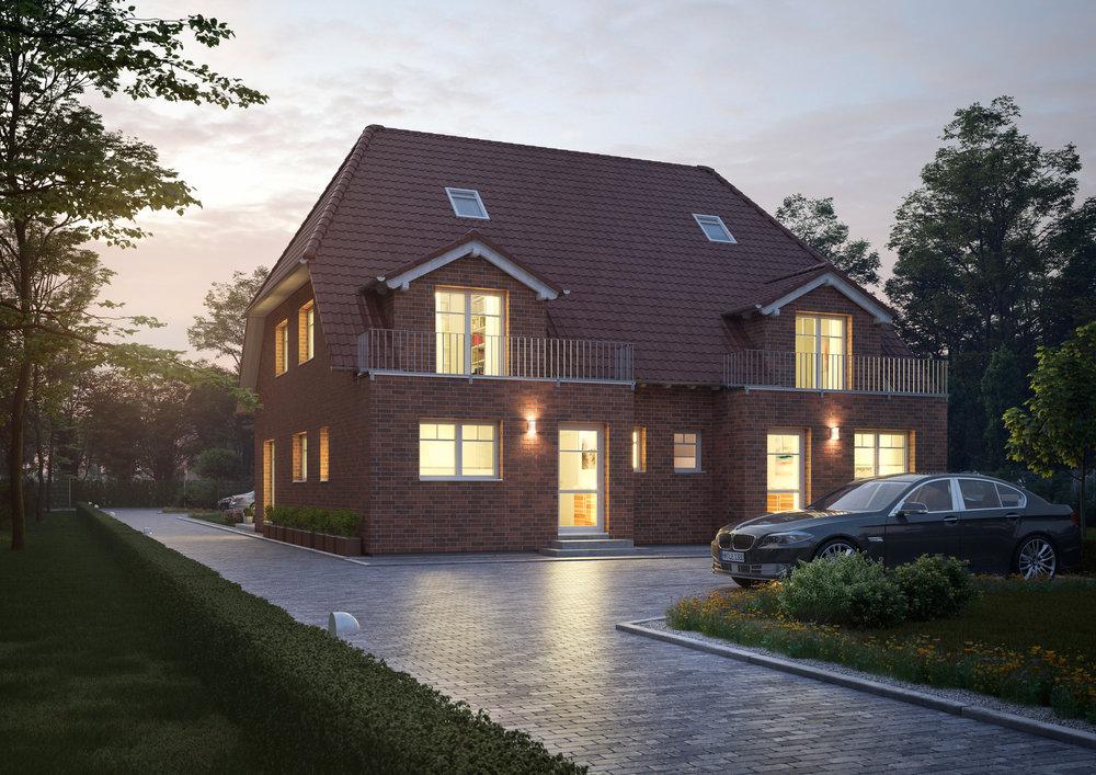 Doppelhaushälfte - HH-Nettelnburg