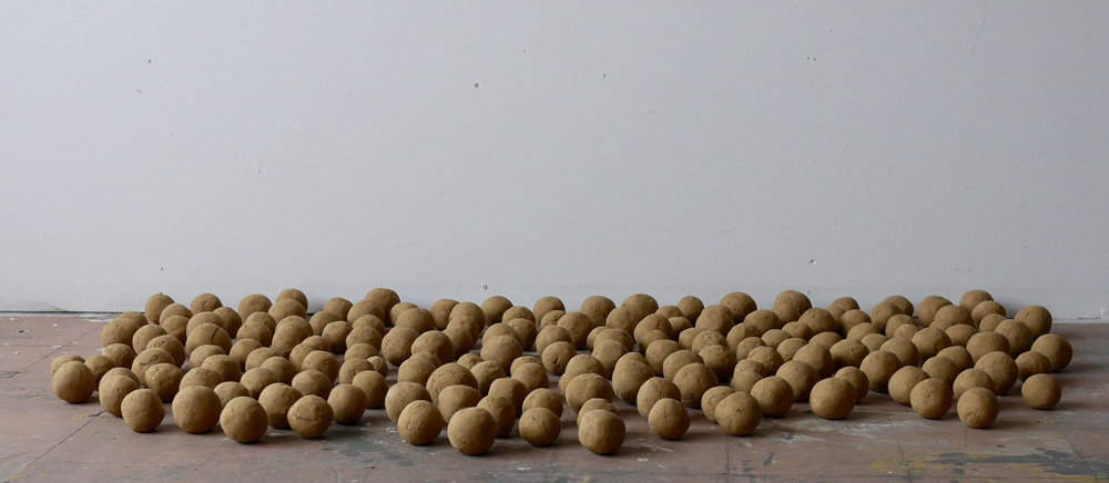 Self-portrait, 171 Dirt Balls - detail 2