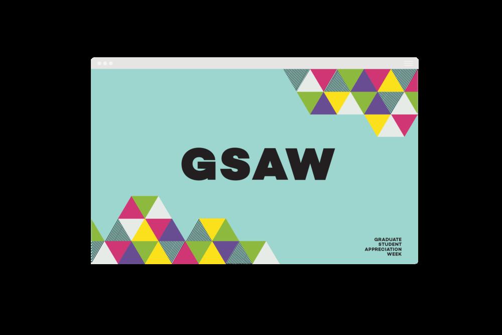Website banner for GSAW 2018.