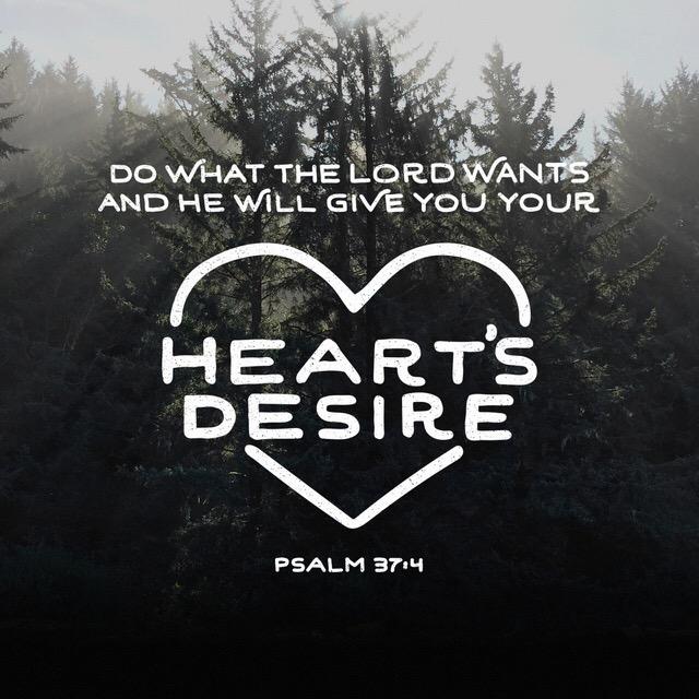 god desires your heart