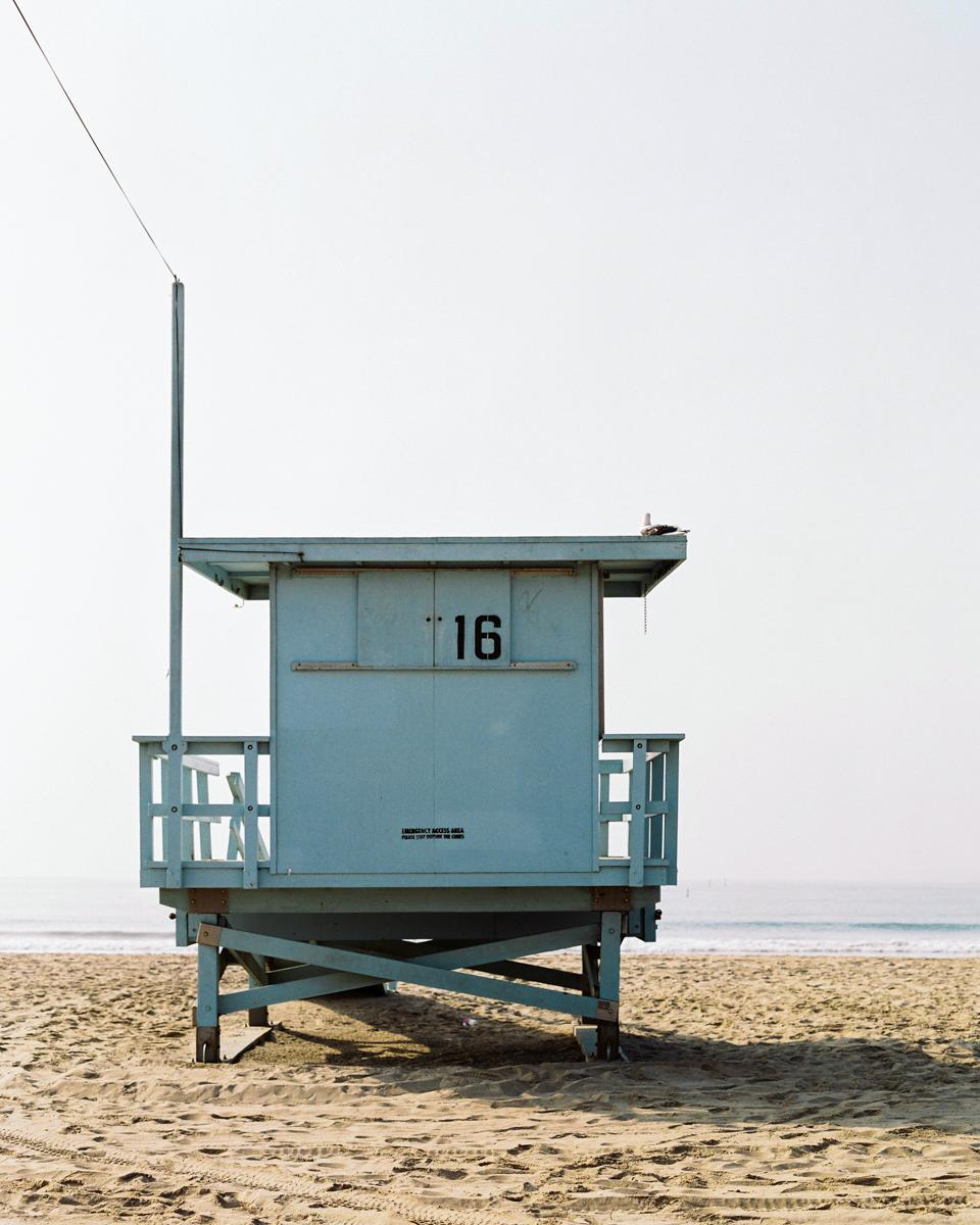 VENICE BEACH, BAYWATCH HUT