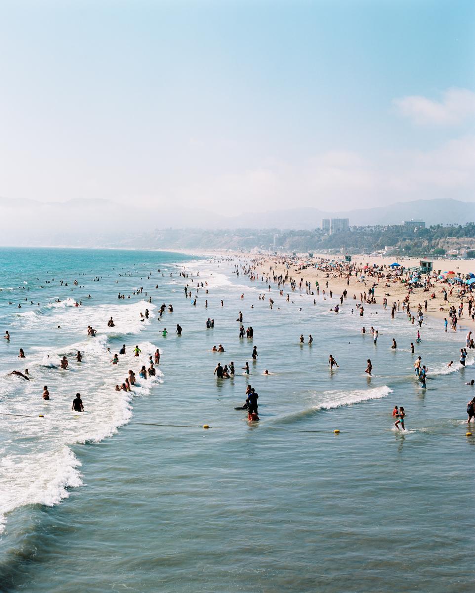 SANTA MONICA, BEACH, CALIFORNIA