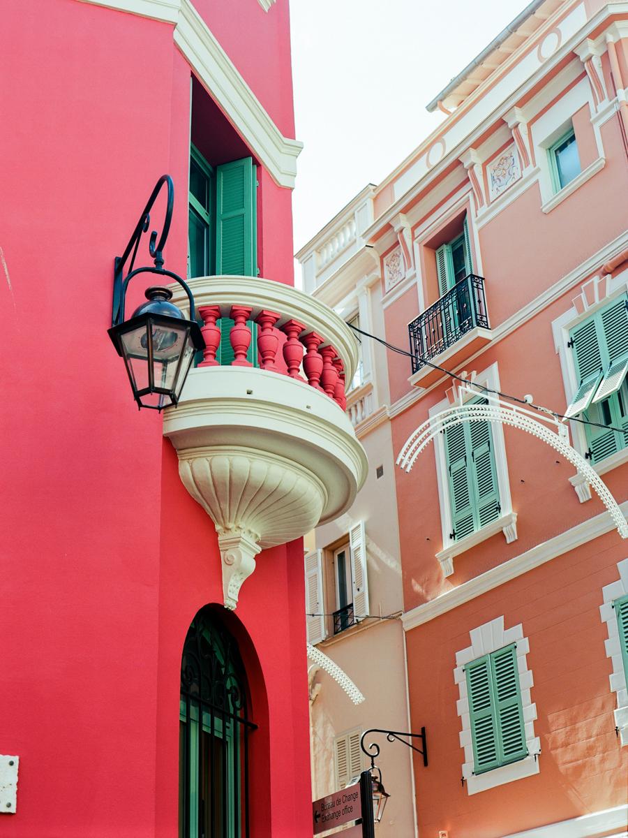 Monaco, The Post Office Balcony