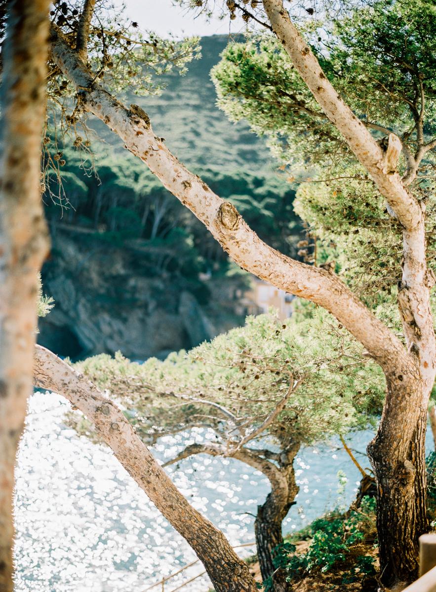 Platja Sa Riera , Nothern Costa Brava, Spain, The Costal Walk