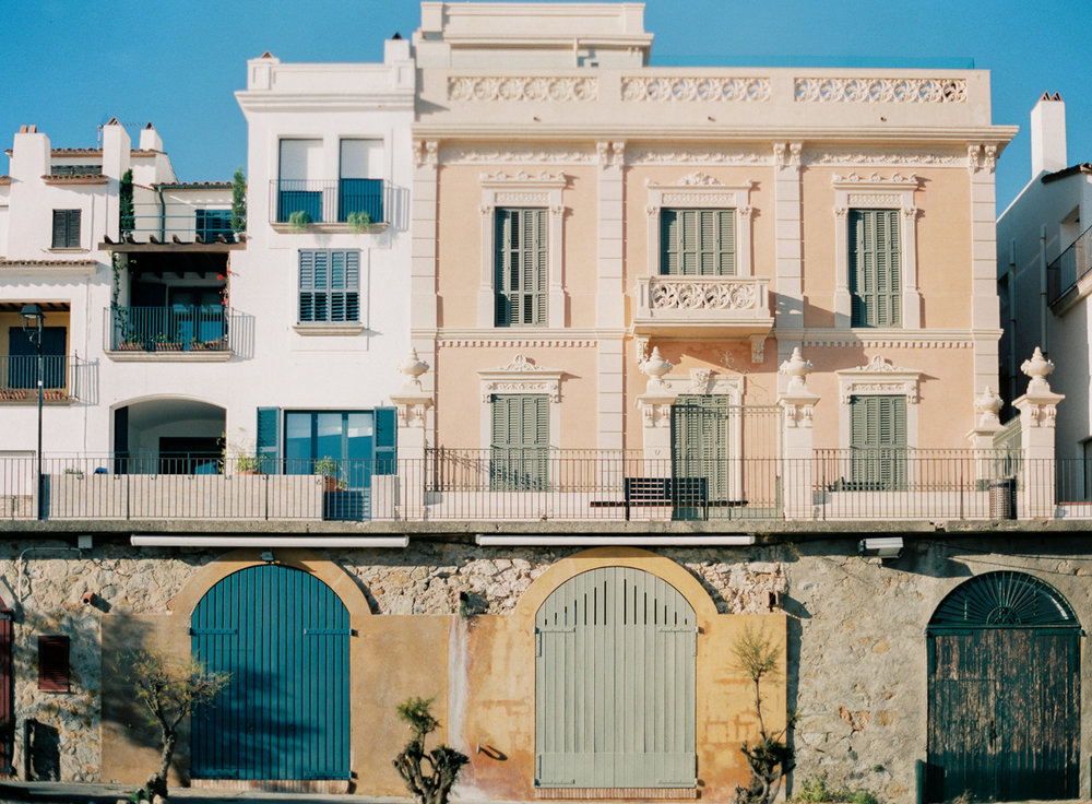 Llfranc, Nothern Costa Brava, Spain, The Americanos Villas