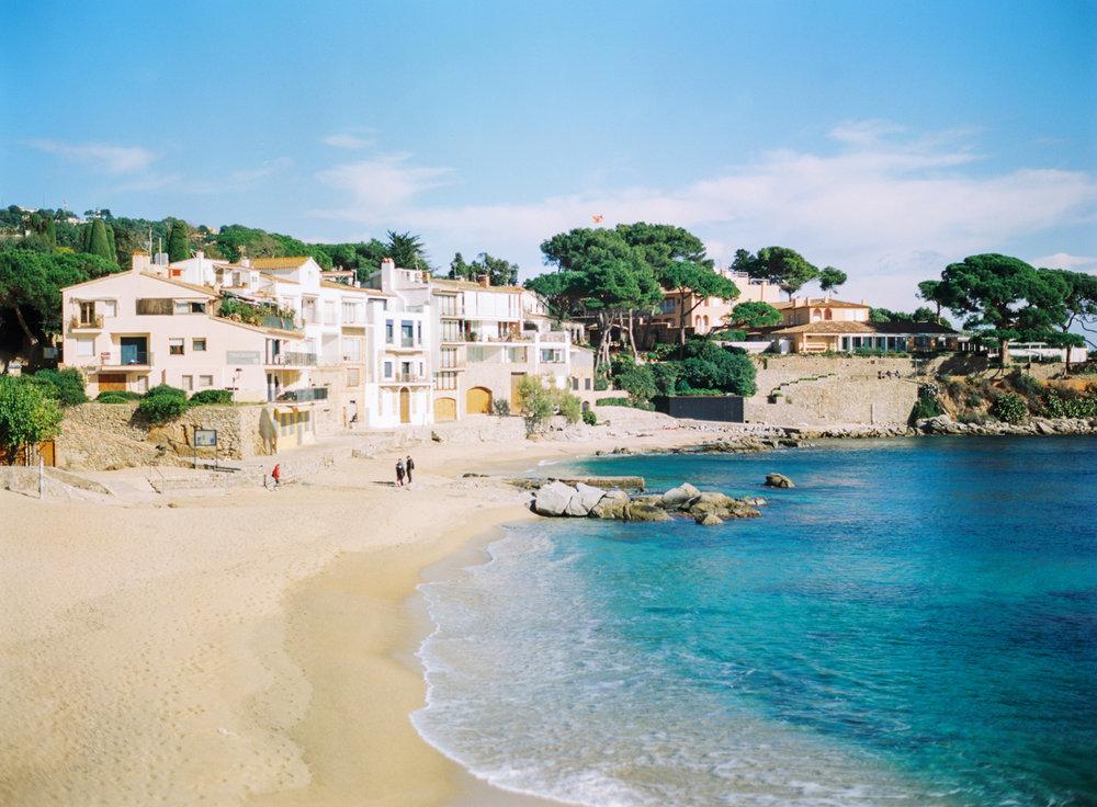 Llfranc, Northern Costa Brava, Spain, The beach