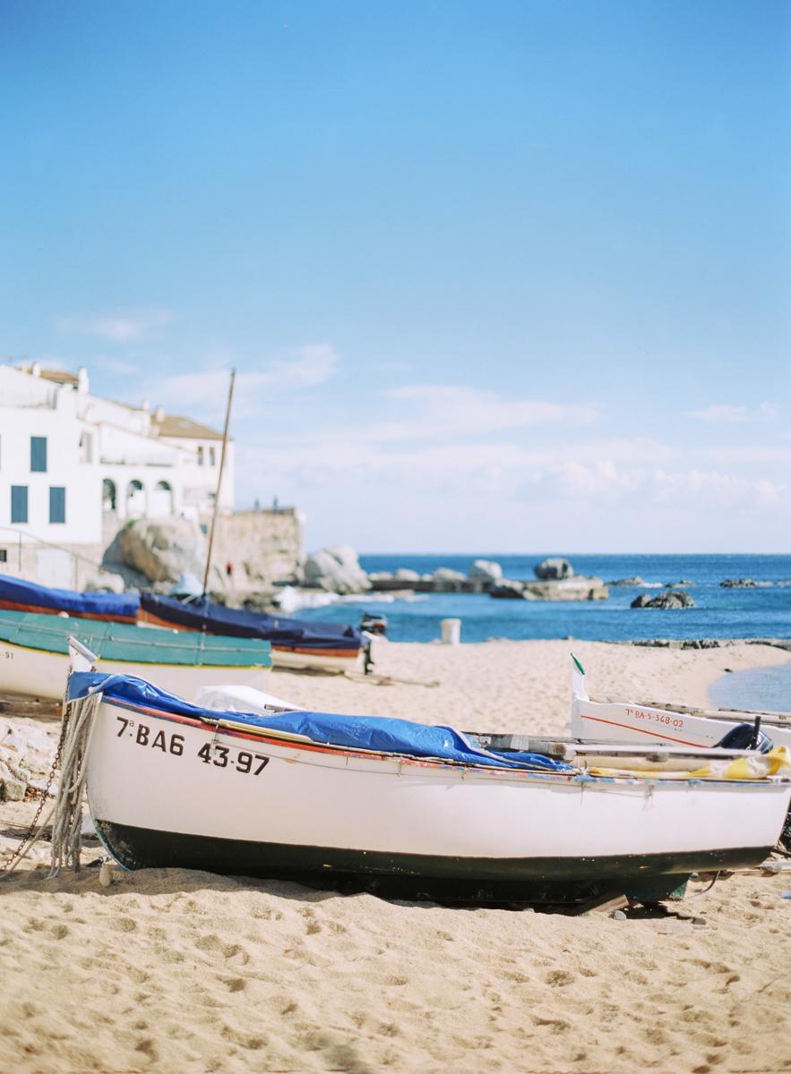 Calella de Palafrugell, Nothern Costa Brava, The Fishing boat