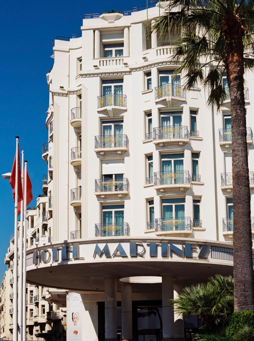 HOTEL MARTINEZ, LA CROISETTE, CANNES, FRANCE