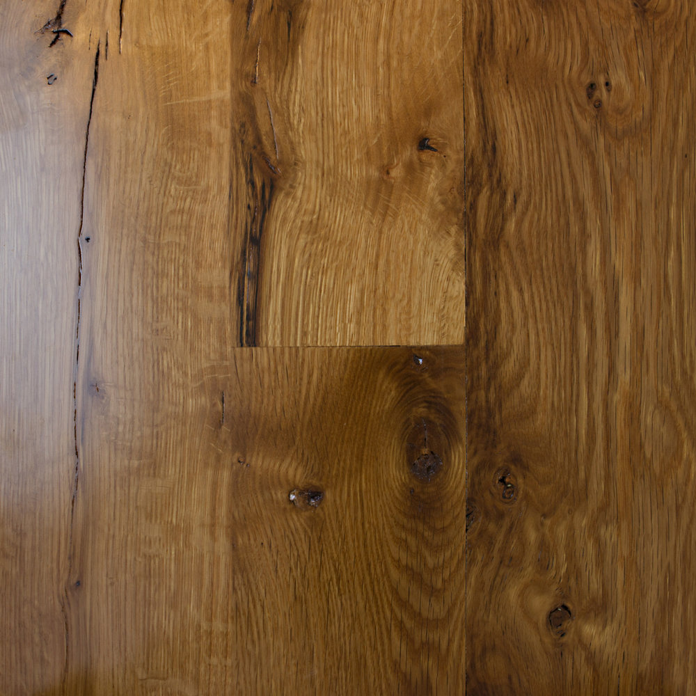 white oak wood floor