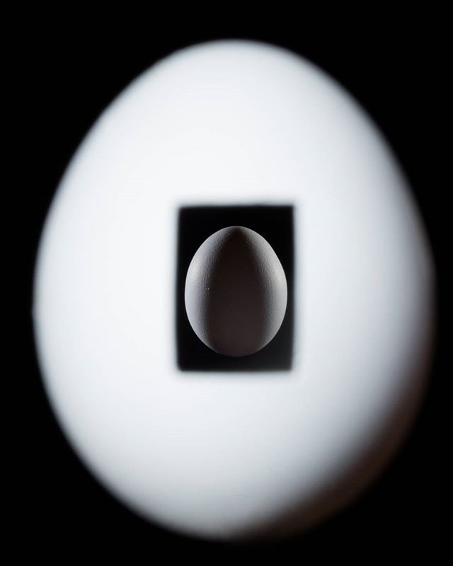 The journey to create the image in our head can be quite tedious, but also tremendously rewarding.  One exposure, two eggs.