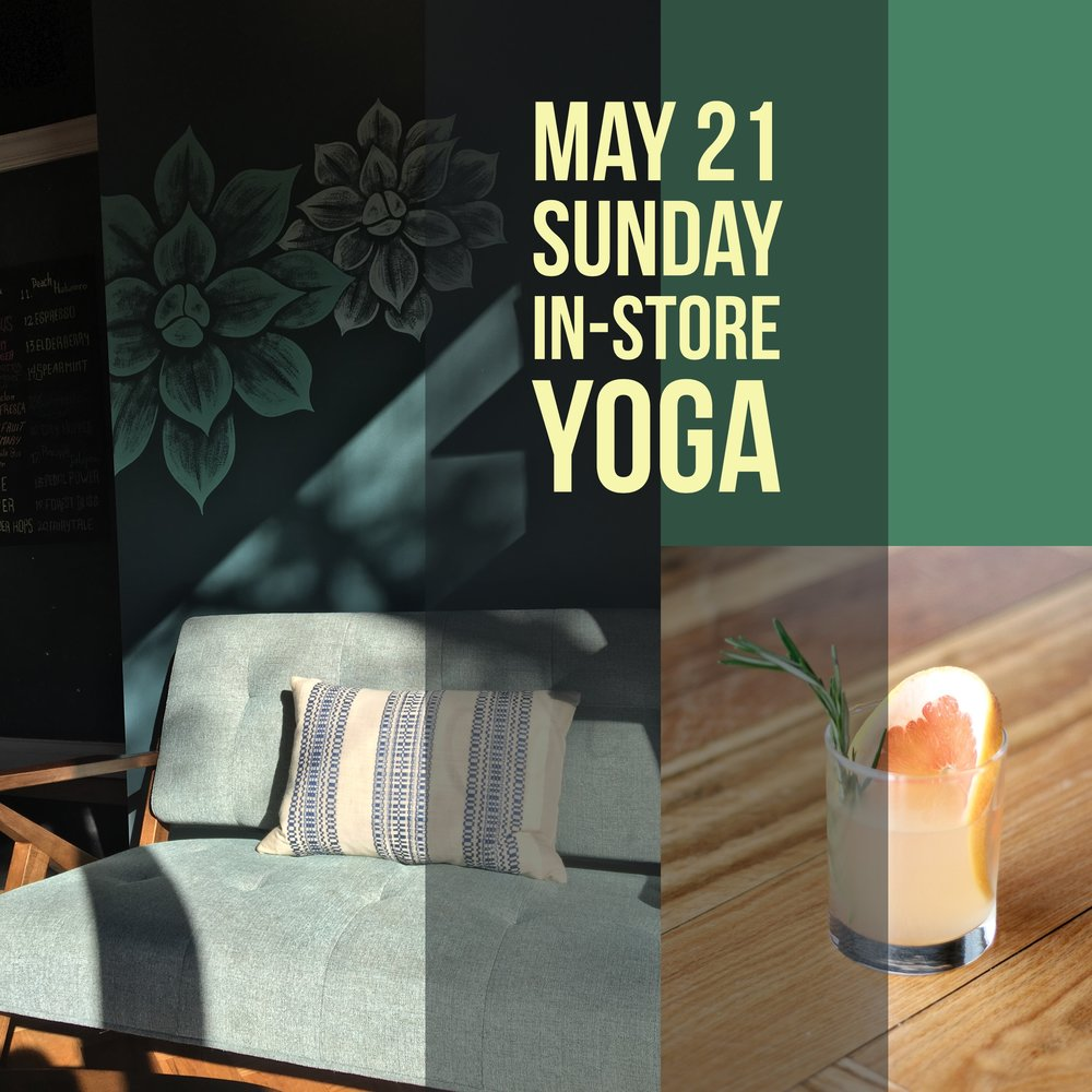 As part of our store concept, TKR is designed to be a multi-functional space for workshops/classes inspired by health, wellness, and community engagement. Our first in-store yoga class will be held on May 21 Sunday. Check out the details and join us!    [Date] 5/21 Sunday    [Time] 9:00am - 9:50am. Door opens at 8:40am    [Location] The Kombucha Room (2355 N Milwaukee Ave)    [Cost] Donation-based (cash only);Suggested donation $10    [What to Bring] Bring a mat, water and maybe a towel if you need it!    [Class] All levels Vinyasa Flow. The class will begin with grounding and breath-work that will lead us into dynamic, alignment-focused movement for building heat and strength. We will end the practice with restorative cooling and close our time together with a final rest and brief meditation    [Teacher's Bio] Emily Thornton    In Emily's career as a clinical social worker, she has spent many years doing nonprofit social justice work, partnering with people from a diverse variety of backgrounds, lived experiences, and identities. Currently, she is a psychotherapist and yoga teacher in a group practice where she leads movement classes and guided meditation. Emily found her way to yoga sixteen years ago while a college freshman in Oregon and fell deeply in love with the way that asana practice and meditation offered her the stillness that her writer-brain often struggled to find. Since then, she has continued to practice and study various styles of yoga, with a focus on Vinyasa and Ashtanga.    In 2016, she completed the 200-hour teacher training at the incomparable Yogaview Chicago and continues to study with her teachers there.She has completed several trauma-informed yoga trainings and is dedicated to making all classes feel safe, welcoming, and accessible for all who come to practice.