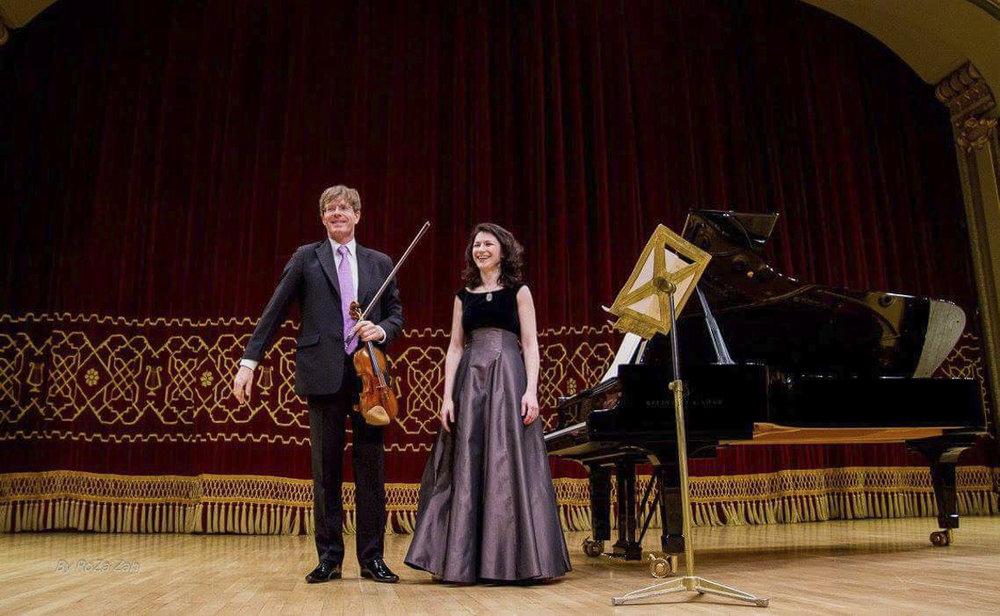 Ateneum-Saal / 01. Mai 2016 / Konzert mit Volkhard Steude, Konzertmeister der Wiener Philharmoniker