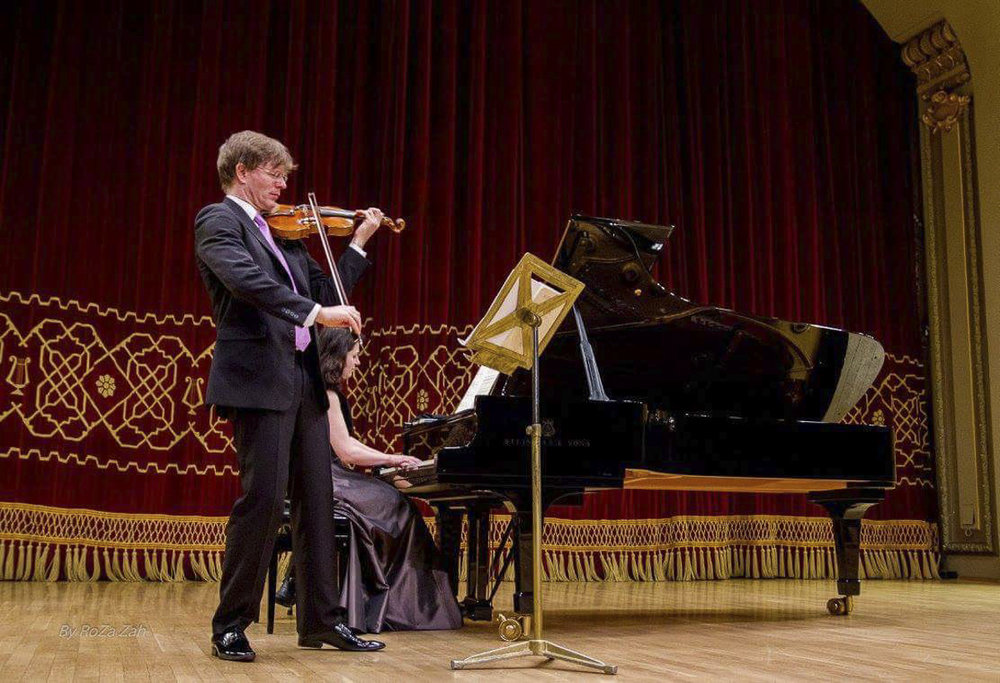 Ateneum Hall / May 1, 2016 / Recital with Volkhard Steude