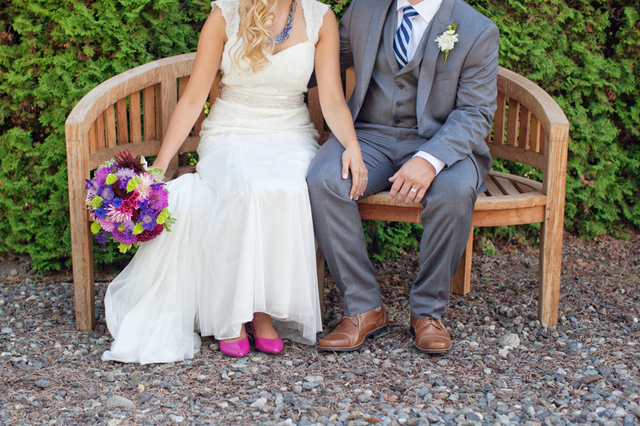 Bellingham wedding photography cute shoes bridal feet