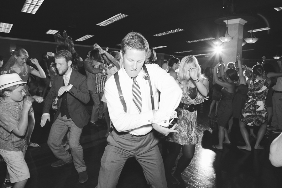 fun dancing wedding photograph