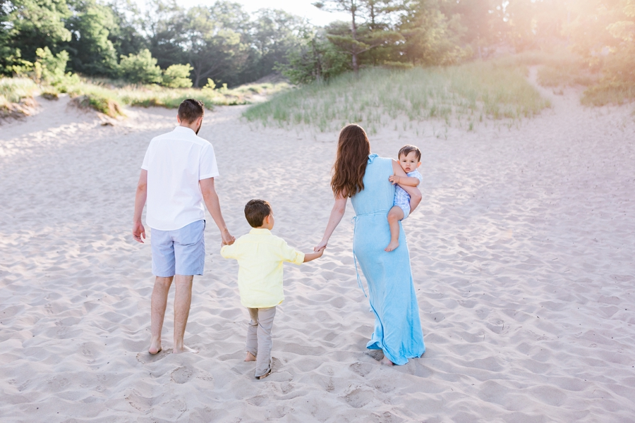 Elm & Olive Michigan family beach photographer