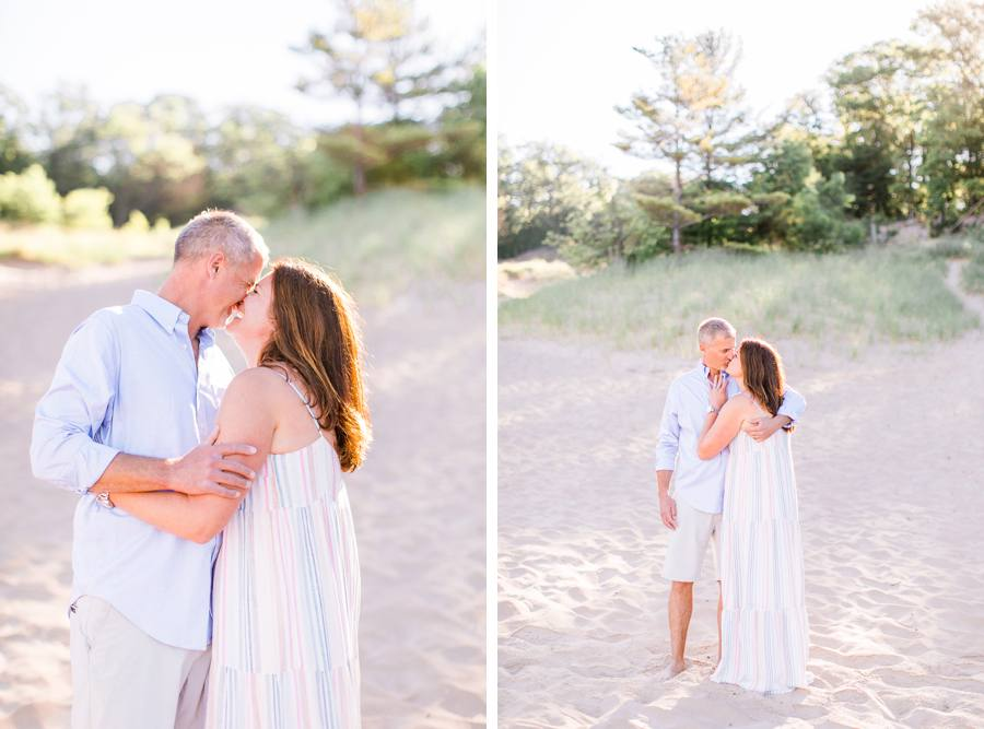 Michigan couple photography in Grand Haven, MI Elm & Olive