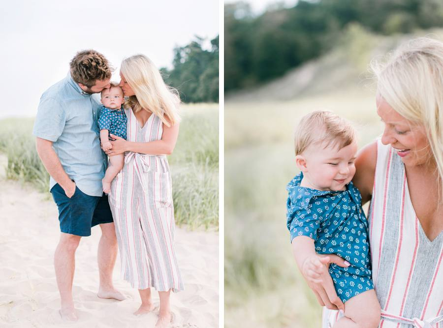 Family beach photography in Grand Haven, MI