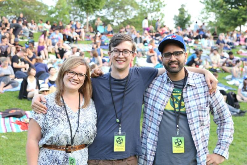 TOPS founders Emily Reid, Felan Parker & Nikin Nagewadia. Photo credit Marissa O'Neill