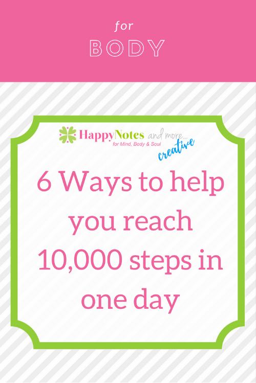 Reach 10000 steps
