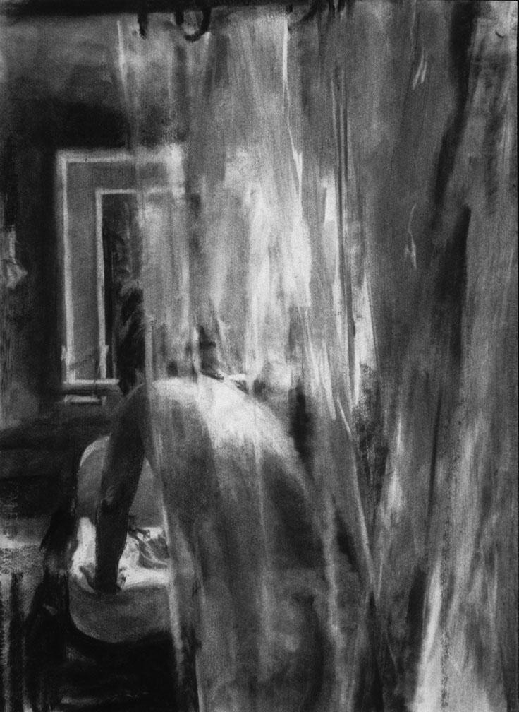 Figure/Shower Curtain