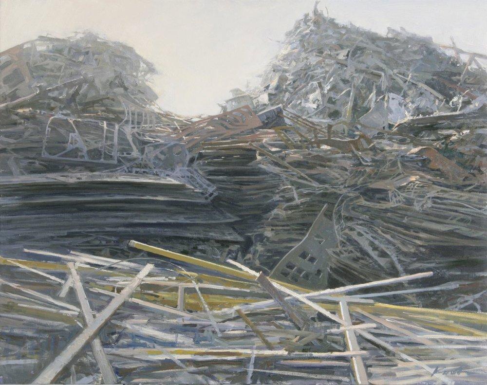 Scrap Metal Piles