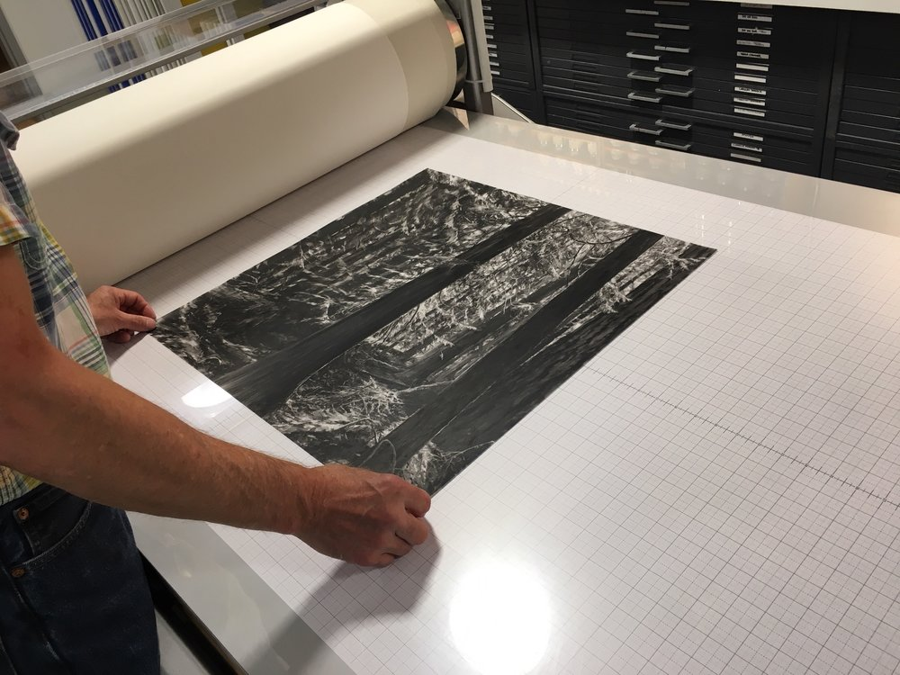 printing half the image