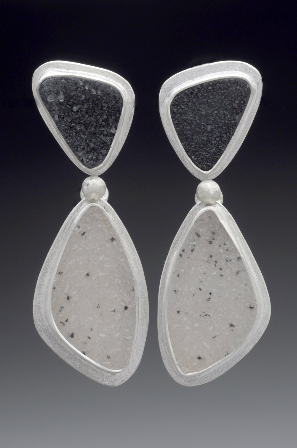 Black White Drusy Earring.jpg