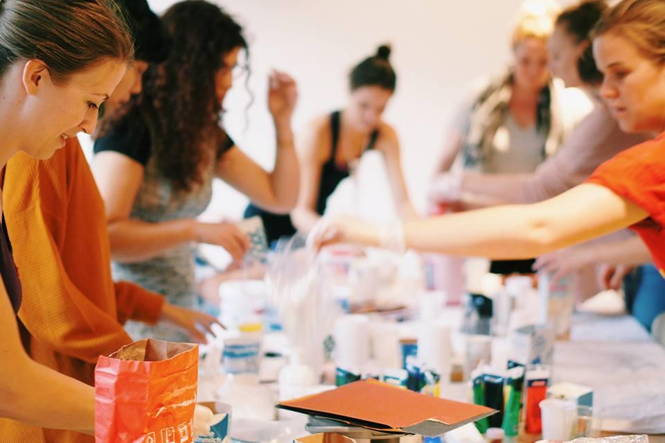 Expat Art Community in Hamburg, Creative Nights