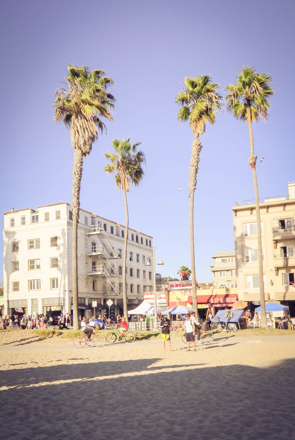 Only chill vibes in Venice Beach