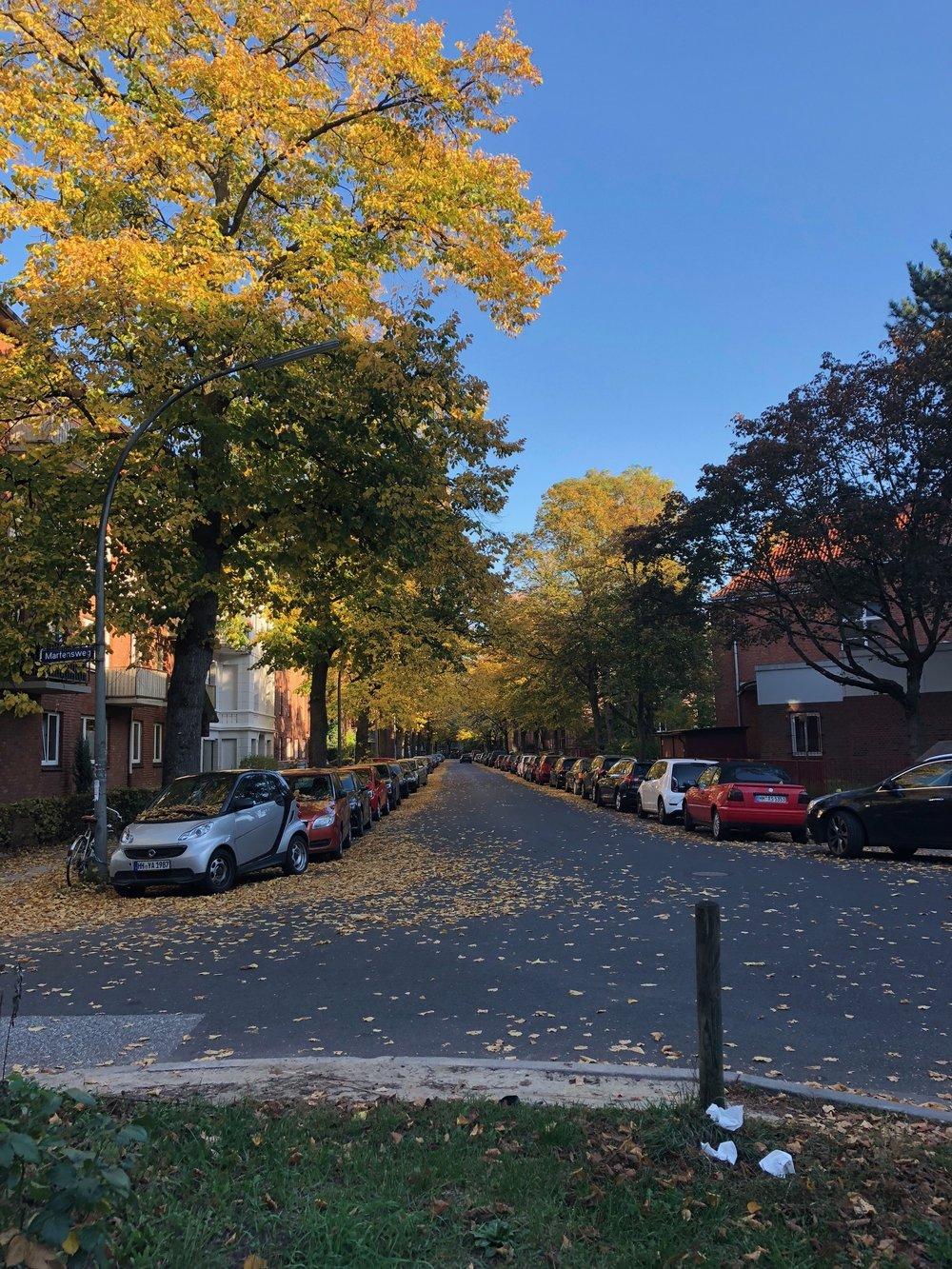 Street in Barmbek Süd
