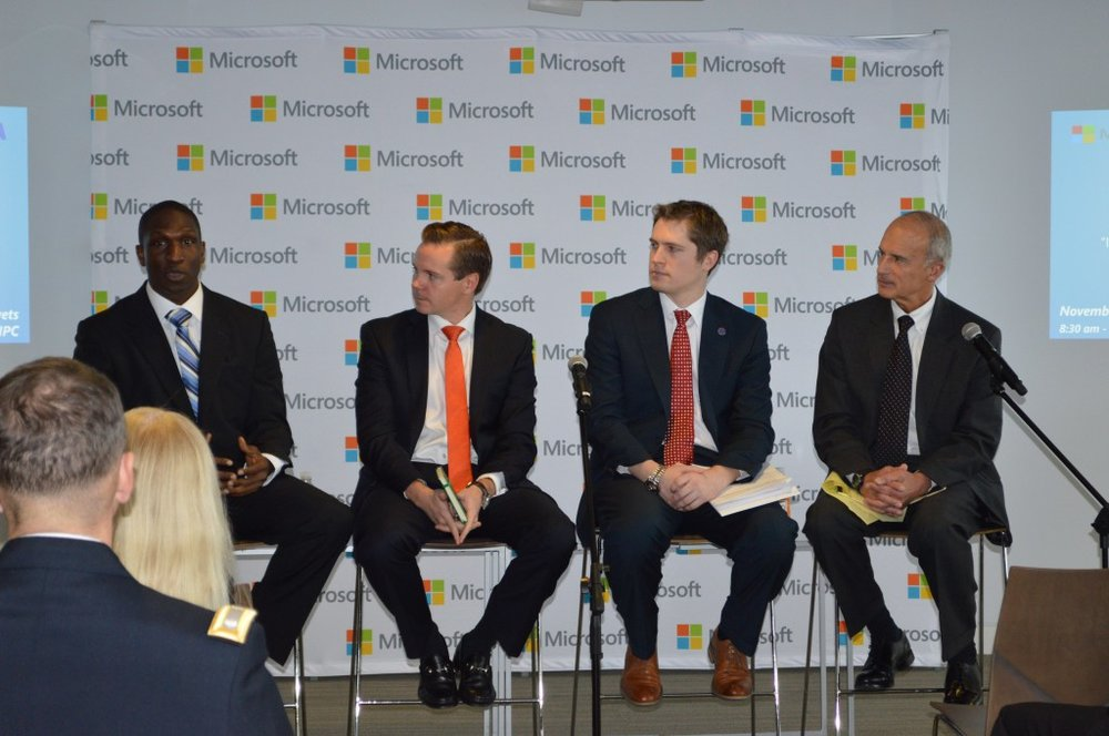 Microsoft hosts discussion on innovative solutions to help transitioning veterans -
