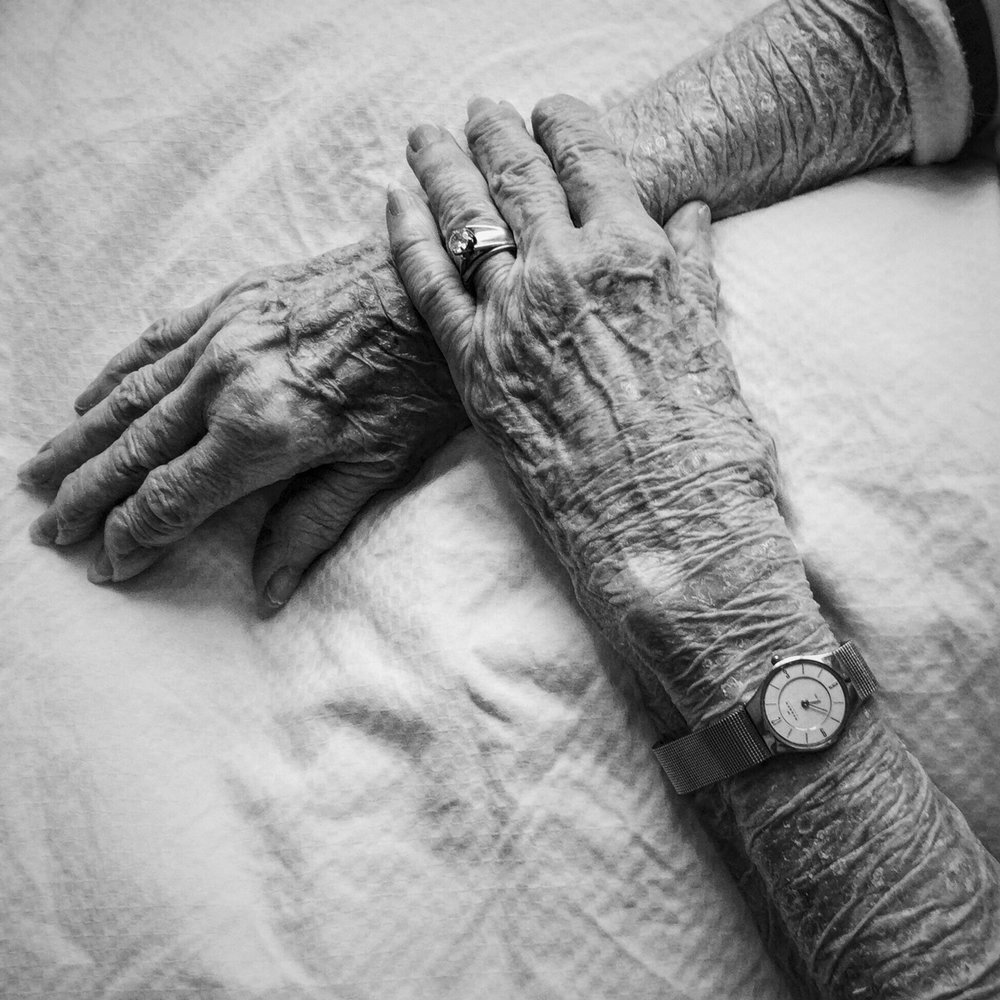 My Mother's hands. Plymouth, Minnesota