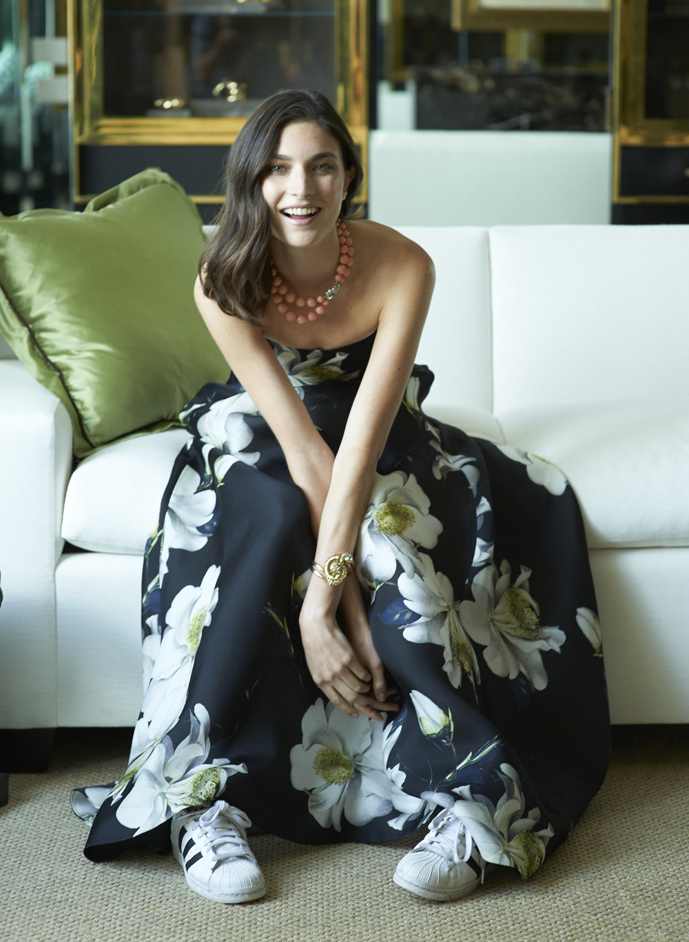 Jacquelyn Jablonski at Belperron for Vogue