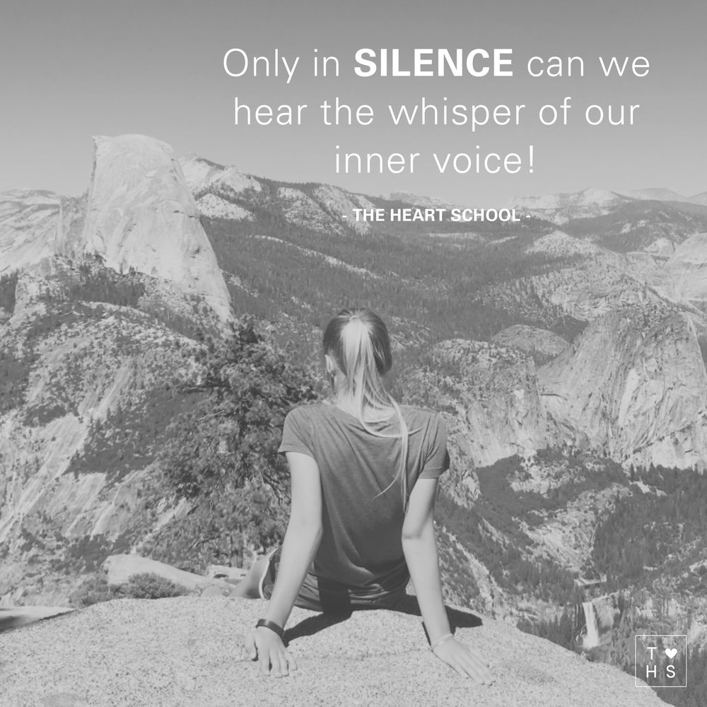 Today give yourself the gift of silence. In this overstimulated world taking a moment for a 'time out' can make all the difference for having a 'good' day or a 'bad' day. Find a quiet spot, a moment to create stillness. Only in silence can we hear the whisper of our inner voice. What is it saying today?
