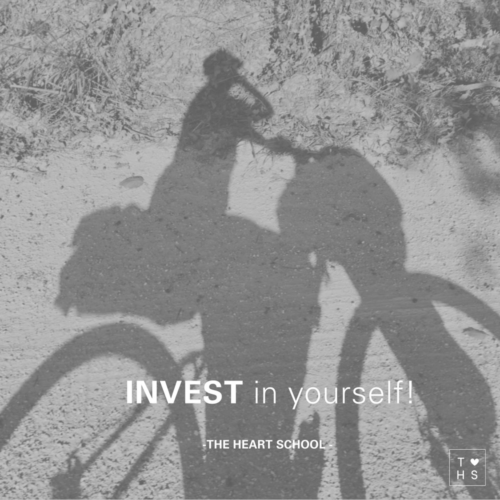 Invest in yourself! Rather than robbing your family of time, you are filling your own vessel in order to be able to give even more to them.  Investing in yourselves is an investment in your family. Make today a joyful day. Invest in yourself and enjoy to be in joy!