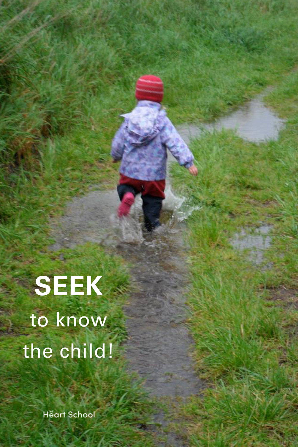 We have to care for children enough that we cast aside our own preconceived ideas, egos and adult agendas so we can 'follow the child'. The essential task of the teacher is to observe. Only when we observe and seek to know each child can we truly follow them.