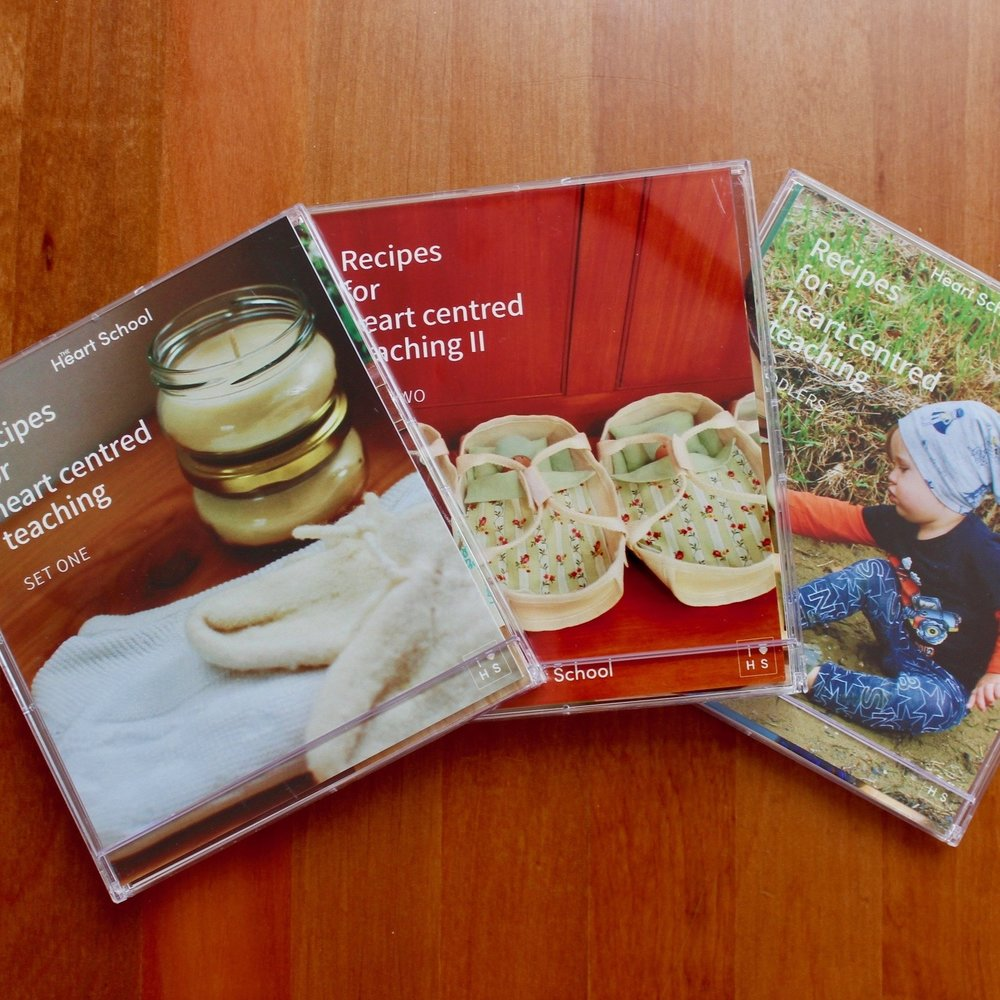 HEART SET - Recipes For heart centred teaching  - SET I, II & Toddlers    NZD $50 plus shipping (p&p)   Buy all THREE sets and save!  Recipes for heart centred teaching 1 & 2 plus the Toddler recipe set. This set will help you stay POSITIVE, PRESENT and PREPARED.