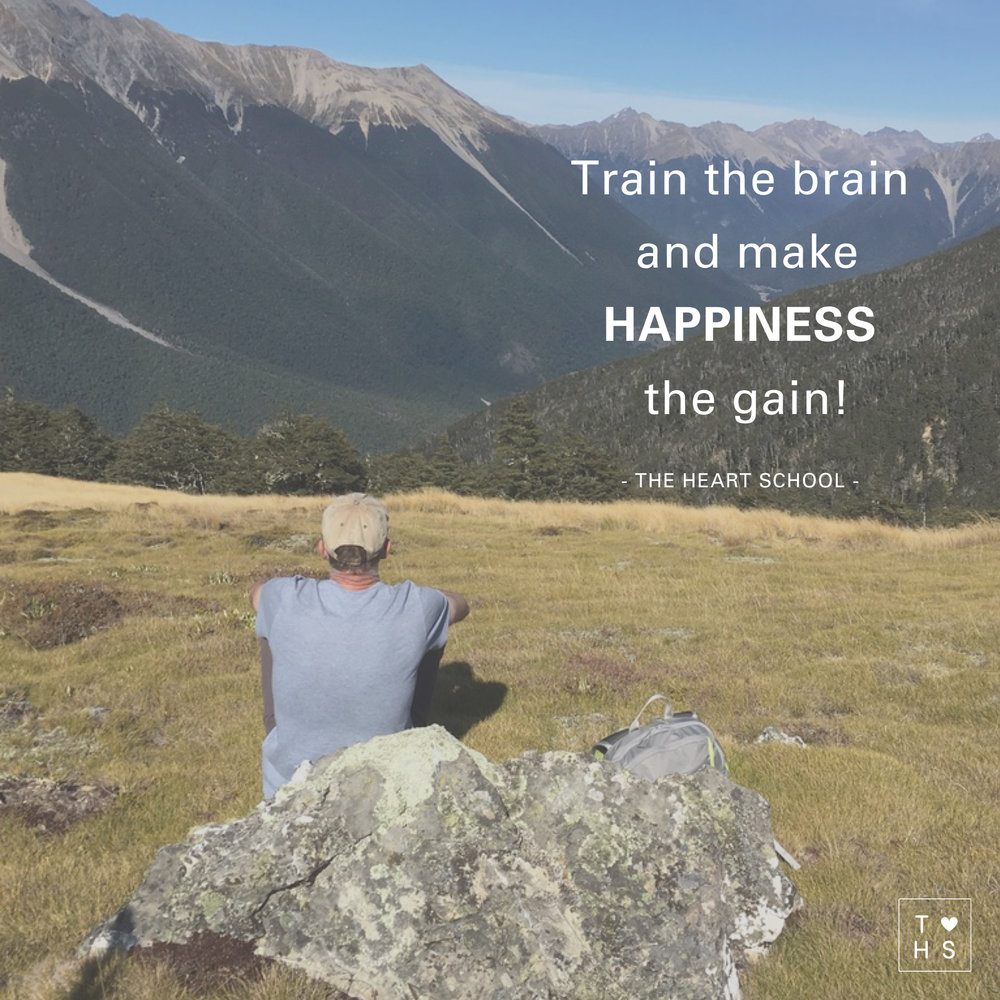 """In his  TEDX talk  """"The Happy Secret to Better Work"""" Shawn Achor mentions that """"If you can raise somebody's level of positivity in the present, then their brain experiences what we now call a happiness advantage, which is your brain at positive performs significantly better than at negative, neutral or stressed. Your intelligence rises, your creativity rises, your energy levels rise.""""  If we can train our brain to become more positive, to create a happiness advantage, we become more happy. And happiness predicts success, contrary to the much accepted believe that success creates happiness. How can we train our brain to think more positive and build up a happiness advantage? Spend time with your loved ones, exercise, meditate/pray/silence moments, random acts of kindness and nourish your own """"happy place""""."""