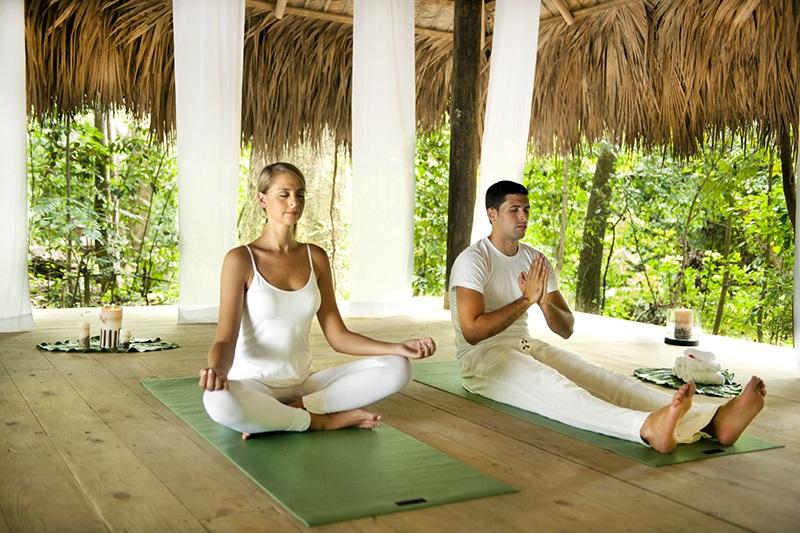 The Yoga Hut at Casa Bonita Resort...