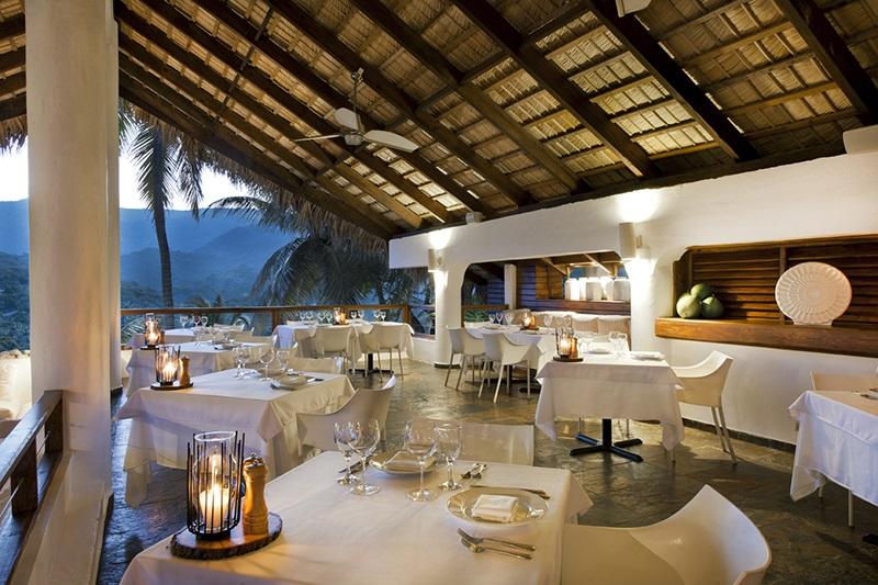 Look at that breathtaking view from the Casa Bonita restaurant...