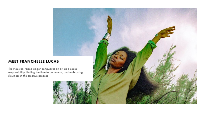 Constellation Issue 3, featuring Franchelle Lucas Photographed by  Enmi Yang