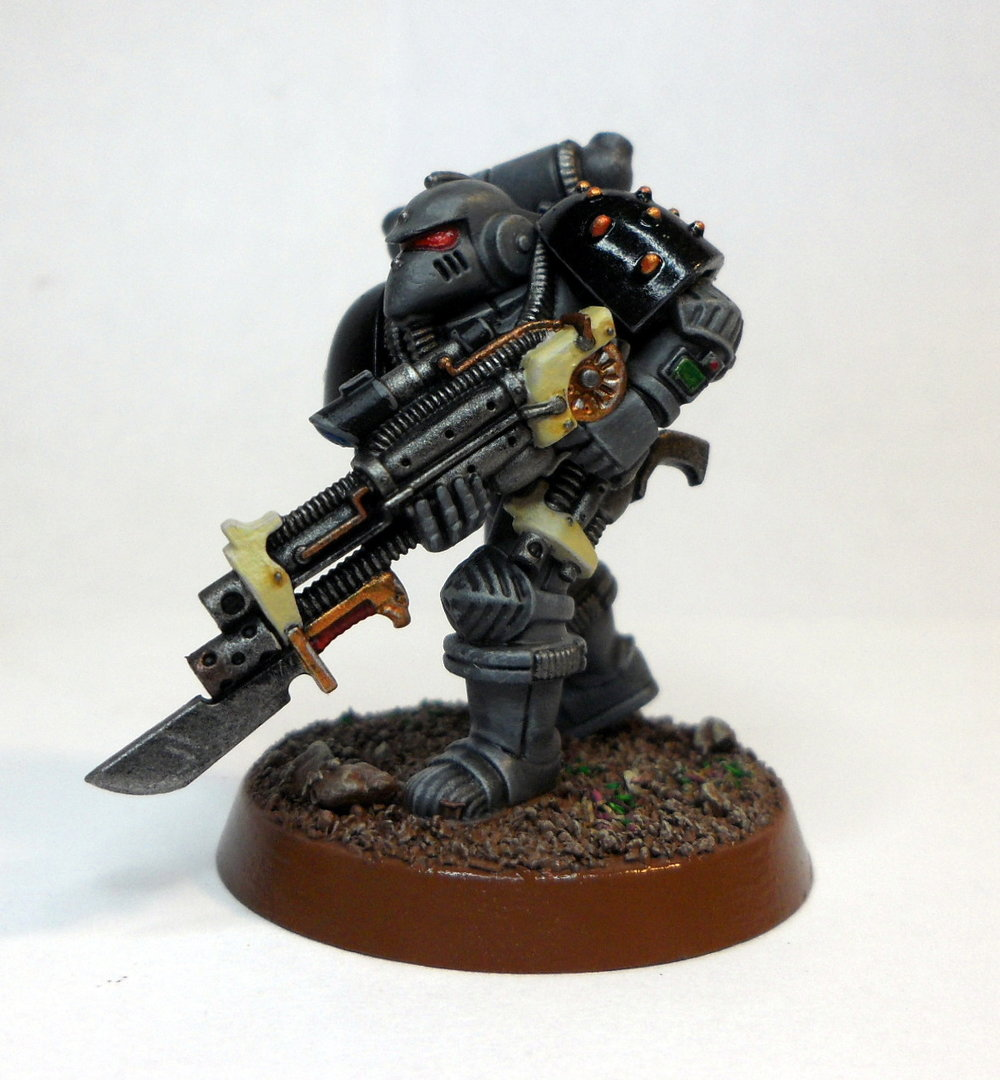 Imperial Marine - Now with a less powerful gun.