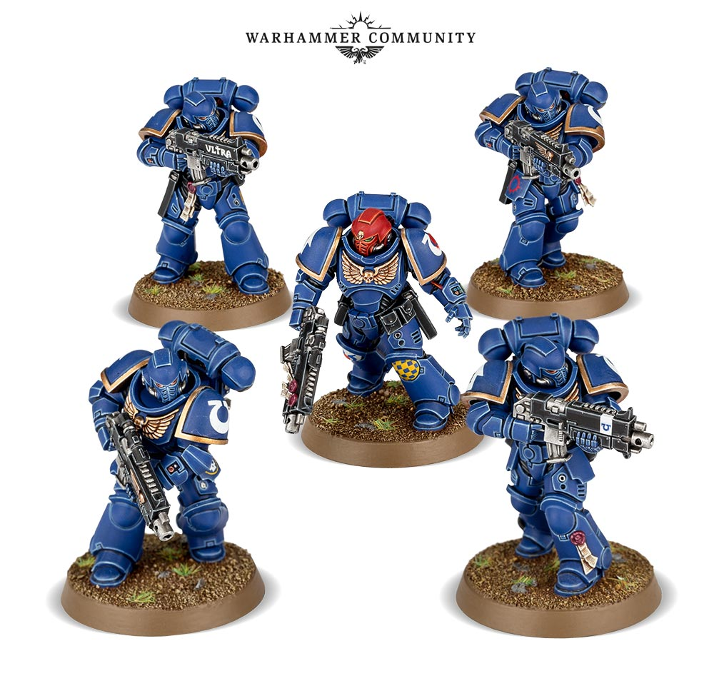 Intercessor Squad - The new Marines on the Block
