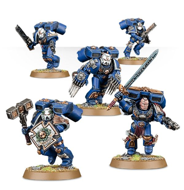 Vanguard Veterans - Expensive Close Combat Support